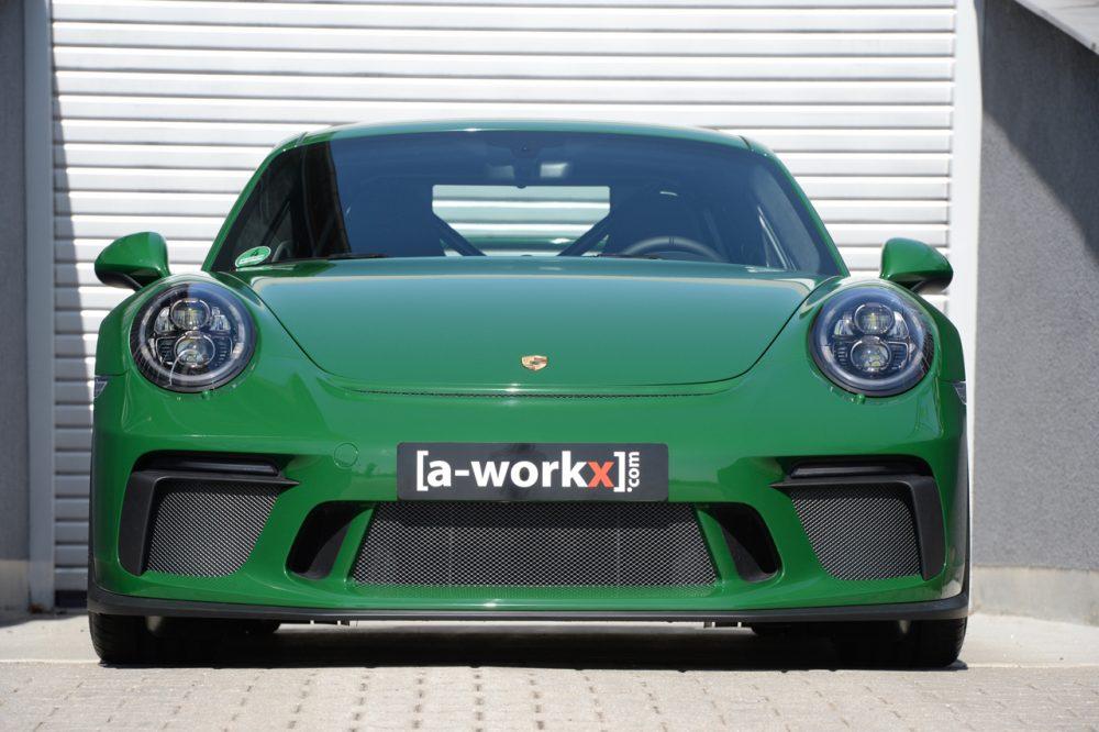 #LifesBetterWithCameras [a-workx].com aus Weßling vor den Toren Münchens präsentiert eine Trackday-kompatible Interpretation des aktuellen Porsche 911 GT3 (Typ 991.2) voller fein austarierter Details; Fotografie: Carsten Krome Netzwerkeins