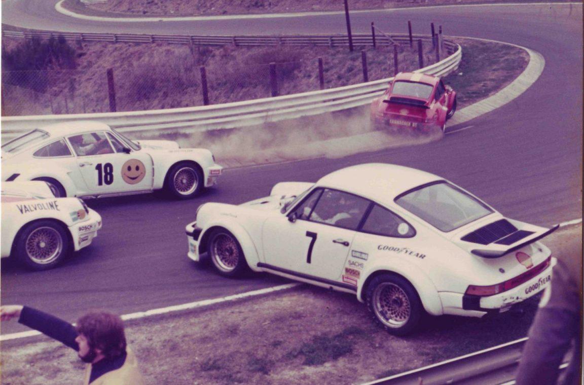 Jürgen Neuhaus, Porsche Carrera RSR (Startnummer 18), Original-Fotografie zur Verfügung gestellt mit freundlicher Genehmigung aus dem Privatarchiv von Frank und Gerhard Holup