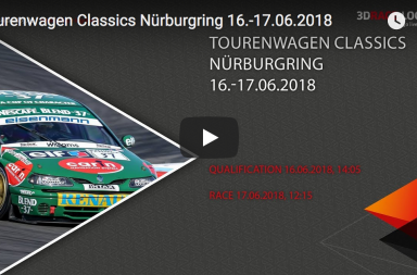 Livestream Tourenwagen Classics Nürburgring 16.-17.06.2018