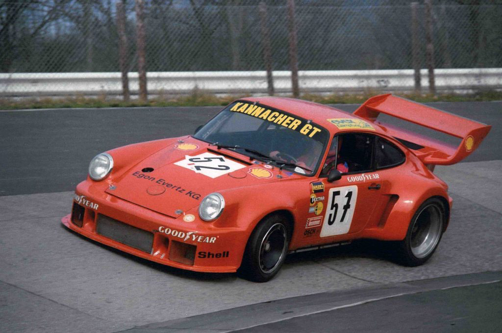 Jürgen Neuhaus, Porsche 934/76, Chassisnummer 930 670 0155, Original-Fotografie zur Verfügung gestellt mit freundlicher Genehmigung von Ekkehard Zimmermann, dp Motorsport, im März 2010