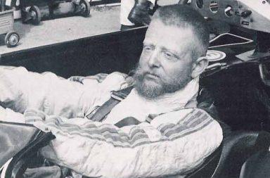 """Der am 24. Mai 1981 auf der Nürburgring-Nordschleife tödlich verunglückte Schweizer Porsche-Rennfahrer Herbert Müller alias """"Stumpen Herbie"""""""