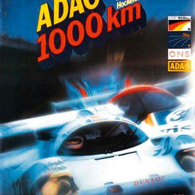 1985-1.000-Kilometer-Rennen-Hockenheim-Duschfrisch-Trophy-Manfred-Winkelhock-Programmheft