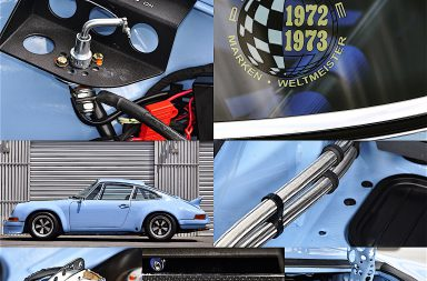 Restomod at its very best: Back in the Summer of '69 – 1969er Porsche 912 Coupé, Umbau zum Carrera RSR 2.8.