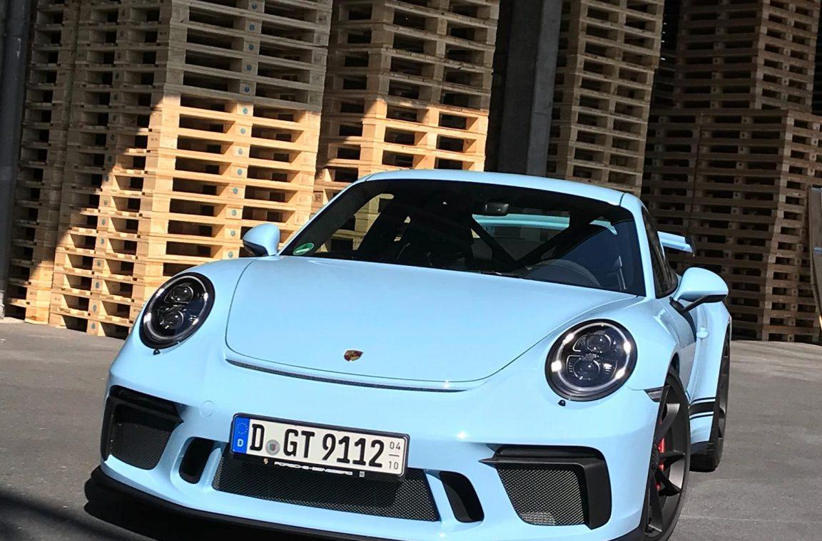 Porsche 911 GT3 (Modelljahr 2018, Generation 991.2)