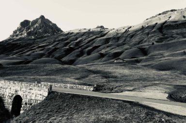 Hochkrumbach mit dem Großen Widderstein im österreichischen Bundesland Vorarlberg