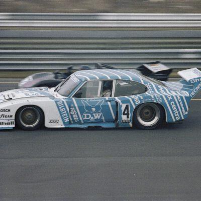 28. März 1982, ADAC-Goodyear-300-km-Rennen Nürburgring: Klaus Niedzwiedz, Zakspeed Ford Capri Turbo ZAK-G5C-001-81 © Carsten Krome Netzwerkeins