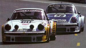 Mit diesem Porsche 934 belegten die Schweizer Herbert Müller, Marco Vanoli und Angelo Pallavicini den vierten Platz bei den 24 Stunden von Le Mans 1979