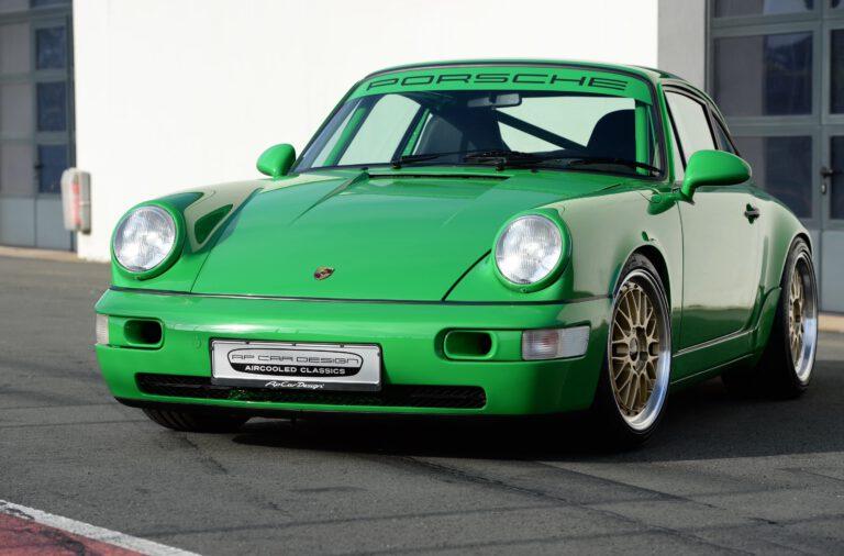 In werk1 nine eleven boxerstories, Ausgabe 02 2021 Porsche 911 Carrera 2 (Typ 964, Modelljahr 1991) APC Avus Clubsport