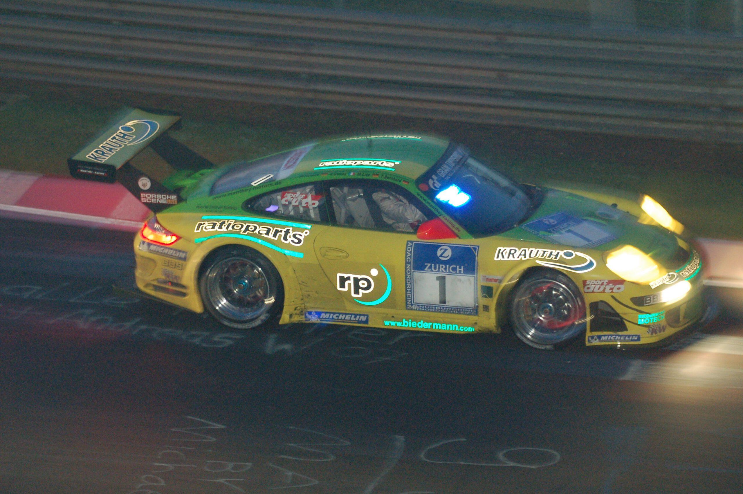 35. ADAC Zurich 24h-Rennen 2007 auf der Nürburgring-Nordschleife Manthey Racing Porsche