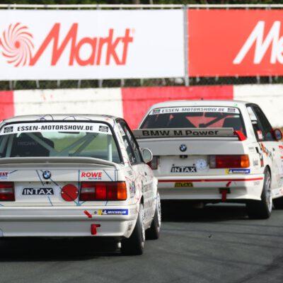 Bewährungsprobe bestanden: BMW 320iS von 2.0 Automotive, Düsseldorf, bei der DTM Classic in Zolder (Belgien) zweimal im Ziel. Fotografie: © Farid Wagner, pitwall media