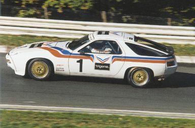 Carsten-Krome-Netzwerkeins-Günther-Steckkönig-Hans-Clausecker-Trigema-Porsche-928-Langstreckenpokal-Nürburgring-1983
